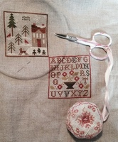 SAL Weathervane de Little House Needleworks : 2ème objectif