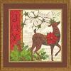 Winter Reindeer - Renne d'hiver - Gold Dimensions 70-08851